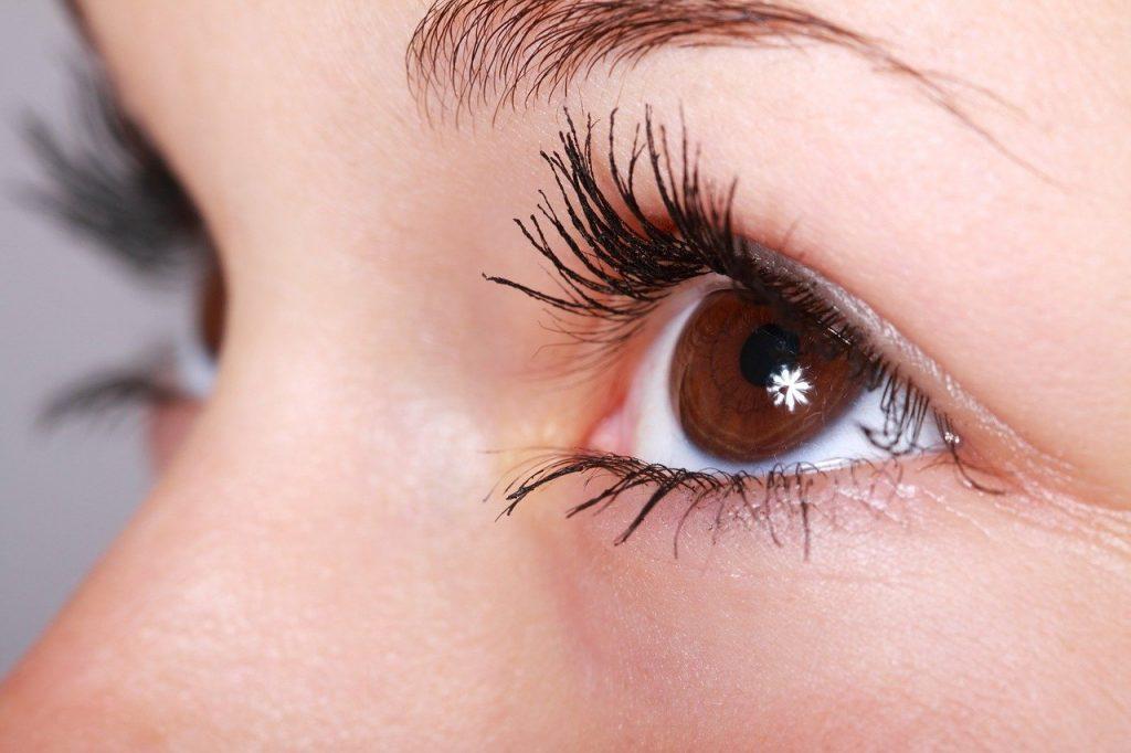 beautiful, close-up, eye